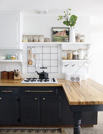 Ide dekorasi dapur hemat ruang kecil