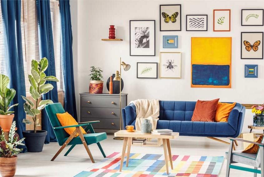 Terangi Rumah Dengan Seni Dinding